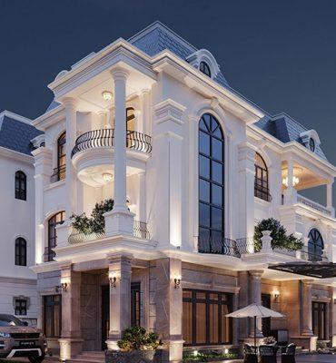 Thiết kế khách sạn kiểu Pháp